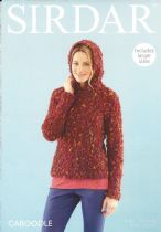 Sirdar Caboodle - 7891 Sweater Knitting Pattern